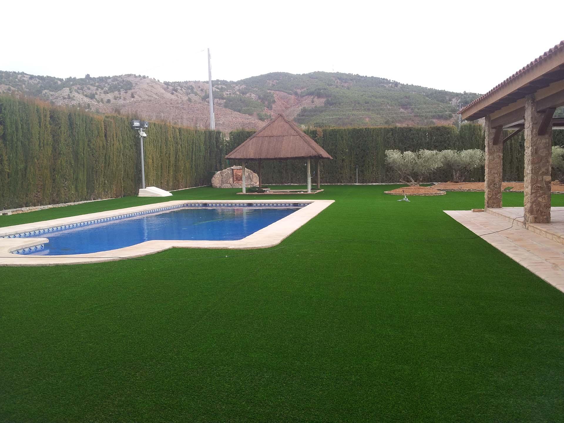 C sped artificial valencia c sped artificial para tu chalet - Cesped artificial jardin ...